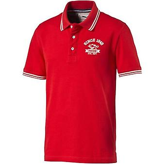Puma Style Athletic Koszulka polo z krótkim rękawem Koszulka Męska Czerwony 832250 05 DD67