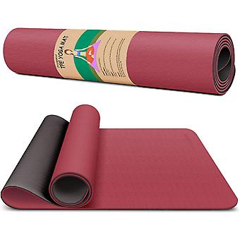 Dralegend Yoga Mat for Women & Men Exercise Gym Mat, 183 x 66 x 0.6cm, 11 colors