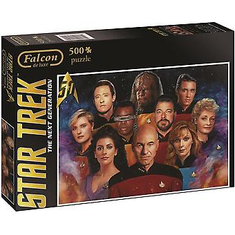 Falcon de luxe Star Trek Next Generation Jigsaw Puzzle (500-Piece)