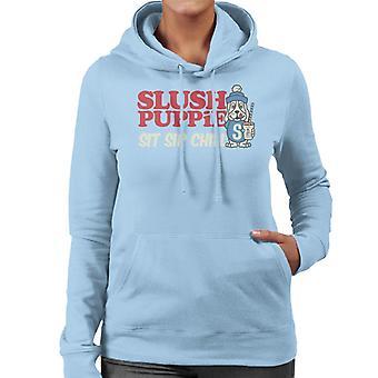 Slush Puppie Sit Sip Chill Women's Hooded Sweatshirt