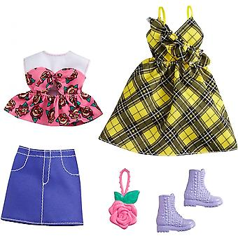 Barbie Fashions 2 Set Pack (Rock N Rose)