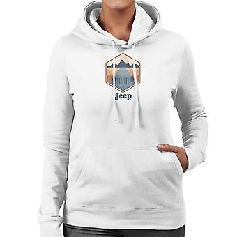 Jeep Drive With A View Women's Hooded Sweatshirt