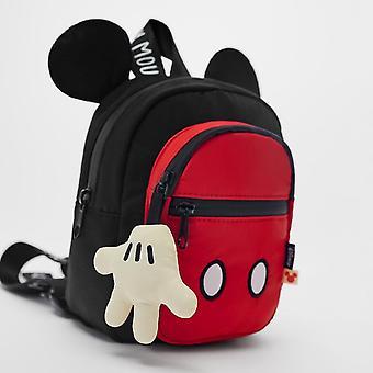 Cartoon Mickey Mini Backpack, Mouse Kids Bag, Handbag, Travel