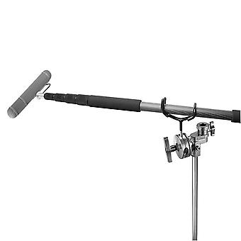 Newest Metal Microphone Boom Pole Support Holder Recording Bracket Professional