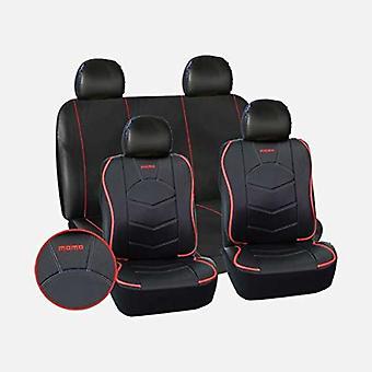 Bilbarnstol täcker Momo 018 Black Universal (10 st)