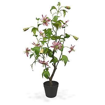 Sztuczny kwiat męczennicy 90 cm różowy
