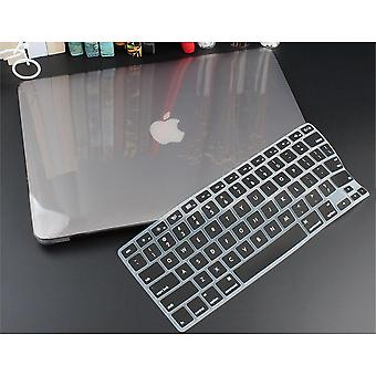 Macbook Air Retina Pro için Kristal Şeffaf Sert Kasa Koruması
