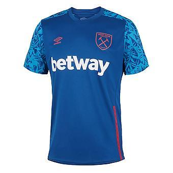 2020-2021 West Ham Training Jersey (Blue)