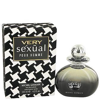 Very Sexual Eau De Toilette Spray By Michel Germain 4.2 oz Eau De Toilette Spray
