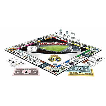 Monopoly real madrid fc football board game
