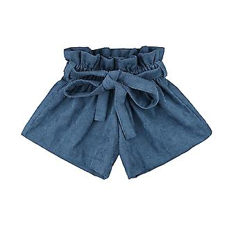 Baba rövidnadrág, pamut kordbársony gyerekek rövid nadrág