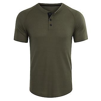 男性のためのYANGFANポロシャツ半袖クラシックフィットTシャツ