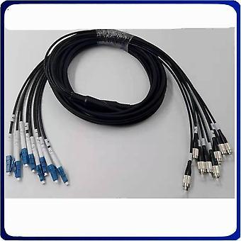 Cable puente de fibra óptica de cable de parche blindado de 100 metros y 8 m