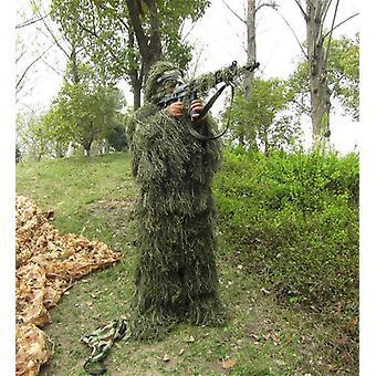 Combinaisons de camouflage universelles 3d, costume boisé pour l'armée de chasse