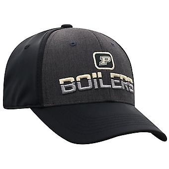 Purdue Boilermakers NCAA TOW Tag Stretch Fitted Hat