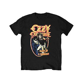 Ozzy Osbourne Kids T Shirt Vintage Diary Of A Madman new Official Ages 5-14 yrs
