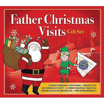 Fader jul besök gåva Set