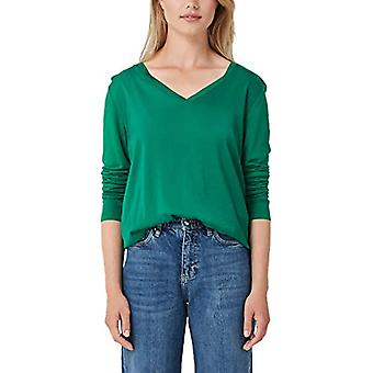 s.Oliver 14.908.31.5349 T-Shirt, Green (Green 7652), 38 Woman