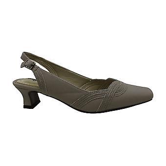 Easy Street Women's, Stunning Low Heel Pumps Oatmeal 6 W