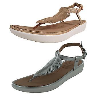 Fitflop Femmes Plume Garniture Tia Toe Post Sandal Chaussures