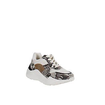 Aqua | Alba Mixed Media Platform Sneakers