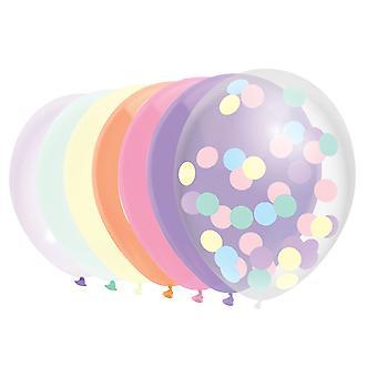 Ballonnen Pastel, 10St.
