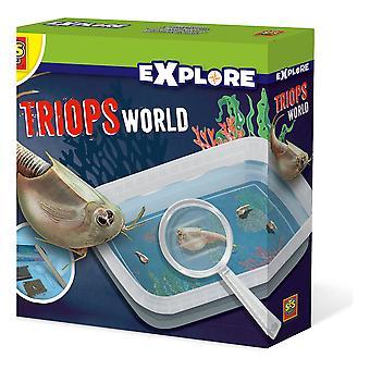 SES Creative - Children's Explore Triops World Experiment Kit (Meerdere kleuren)