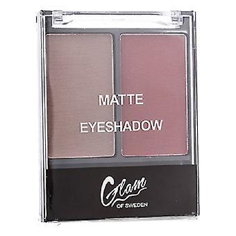 Eye Shadow Palette Matte Glam Sverige 01-värme (4 g)