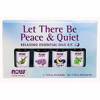 Agora alimentos let there be peace & quiet relaxing essential oils kit, 1 kit