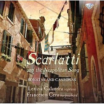 Scarlatti/Vinci/Pergolesi/Liguori - Scarlatti and the Neapolitan Song [CD] USA import