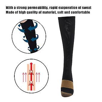 Mode Confortable Soulagement Doux Hommes Femmes Chaussettes de compression anti-fatigue