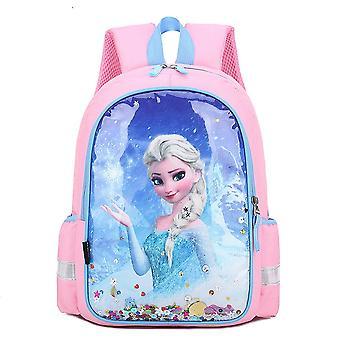 Girls' Mochila Anna Elsa Schoolbag Princess Girls' Bolsa escolar
