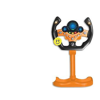 Eletrinen simulaatio ohjauspyörä lelu kevyt ääni lapset aikaisin