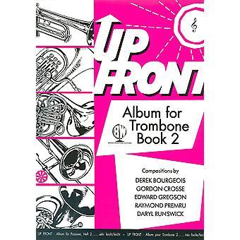 Up Front Album Trombone Book 2 Treble Clef TC