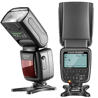Lcd Display Flash Speedlite For Cmeras With Stand