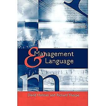 Management and language
