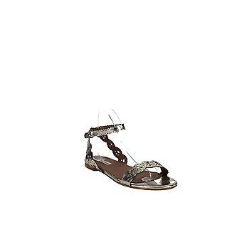 Tabitha Simmons   Bobbin  Slingback Block-Heel Sandals