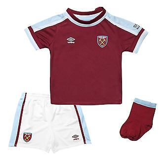 2021-2022 West Ham Home Baby Kit
