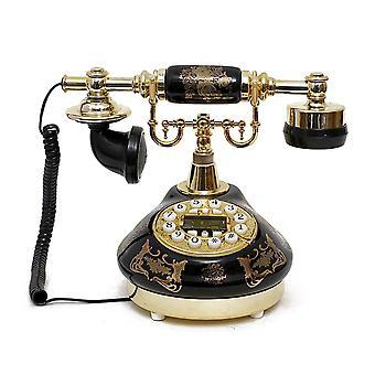 antikk stil roterende telefon prinsesse fransk stil gammeldags håndsett telefon tc-509
