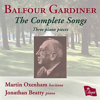 Balfour Gardiner - Balfour Gardiner: importação EUA canções completas [CD]