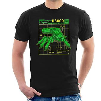 R3000 Robot Database Ghost In A Shell Men's T-Shirt