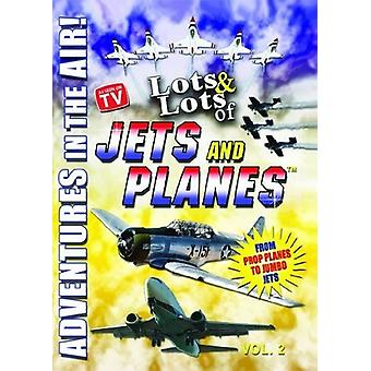 Lots & Lots of Jets & Planes Vol. 2 [DVD] USA import