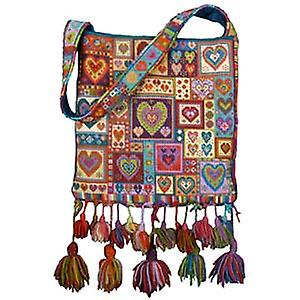 Peu Patchwork Bag Kit Tapisserie de cardiologie