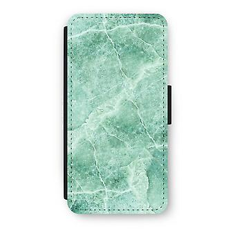 iPhone 6/6s Flip Case - Green marble
