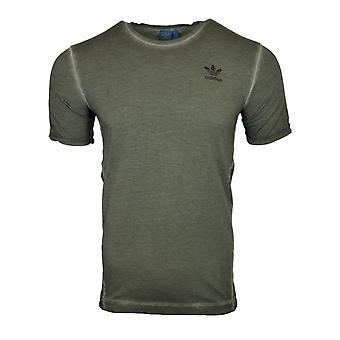 Adidas Originals Street moderni vihreä silkkilangat t-paita AY9189