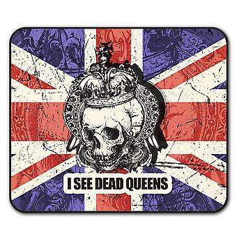Dead Queens  Non-Slip Mouse Mat Pad 24cm x 20cm | Wellcoda