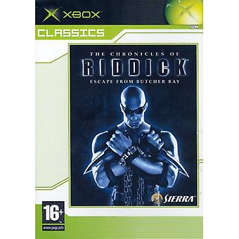 The Chronicles of Riddick - Escape from Butcher Bay (Xbox Classics) - New