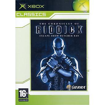 De kronieken van Riddick-Escape from Butcher Bay (Xbox Classics)-nieuw