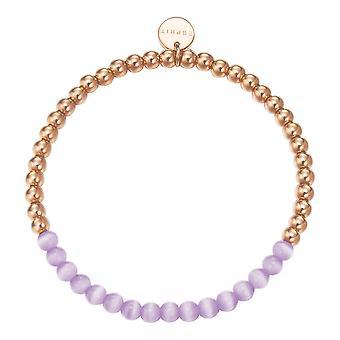 Esprit Damen Armband Edelstahl rosé Spheres ESBR11641E165