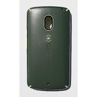 Speck MightyShell Case for Motorola Droid Maxx 2 (Dusty Green/Yellow/Grey)
